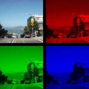 ImagickでRGBチャネルにわけた画像