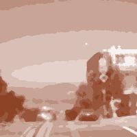 Imagickで変換した抽象的なグラデーション画像