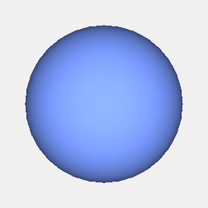 groovyとJOGLで描画した球