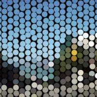 ProcessingとJava Image Filters(pixels)を使用して点状に加工した画像