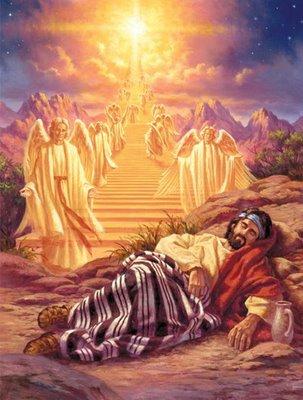 Daily text bible scriptures cu l fue el significado for La escalera de jacob