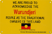 Proud to acknowledge the Wurundjeri people of the Kulin nation