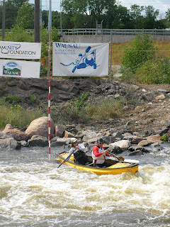 OC2 Mixed at Wasau Whitewater Park