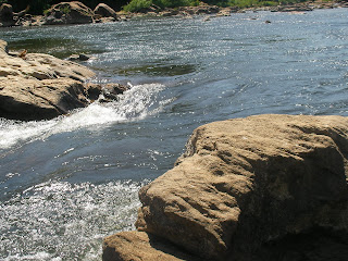 The local Rappahannock River