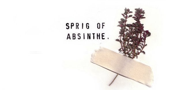 sprig of absinthe