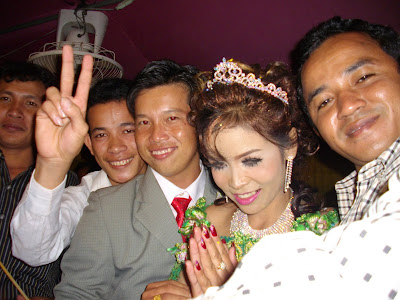 "The Cambodian ""Invited"" Wedding Crasher"