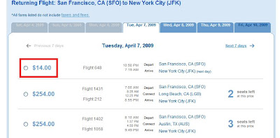 JetBlue Travel Steal! Coast to Coast for $14US!