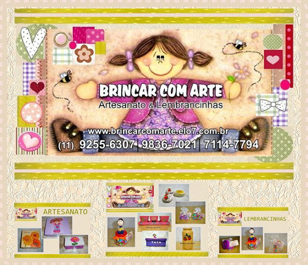 """""""BRINCAR COM ARTE"""""""