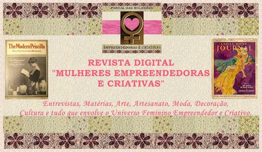 REVISTA DIGITAL MULHERES EMPREENDEDORAS E CRIATIVAS