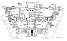 Claybury Asylum -- plan
