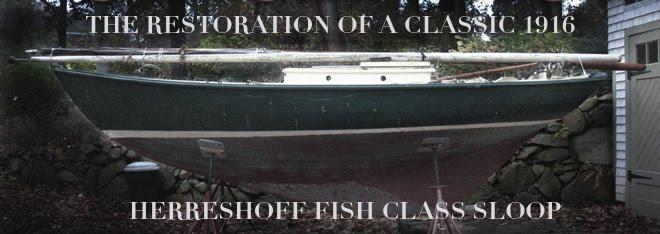 The Restoration Of A Classic 1916 Herreshoff Fish