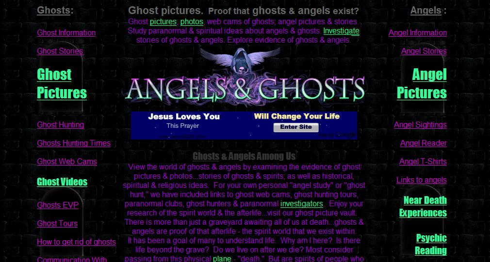 an analysis of the world of ghosts and angels by examining the evidence on the photos