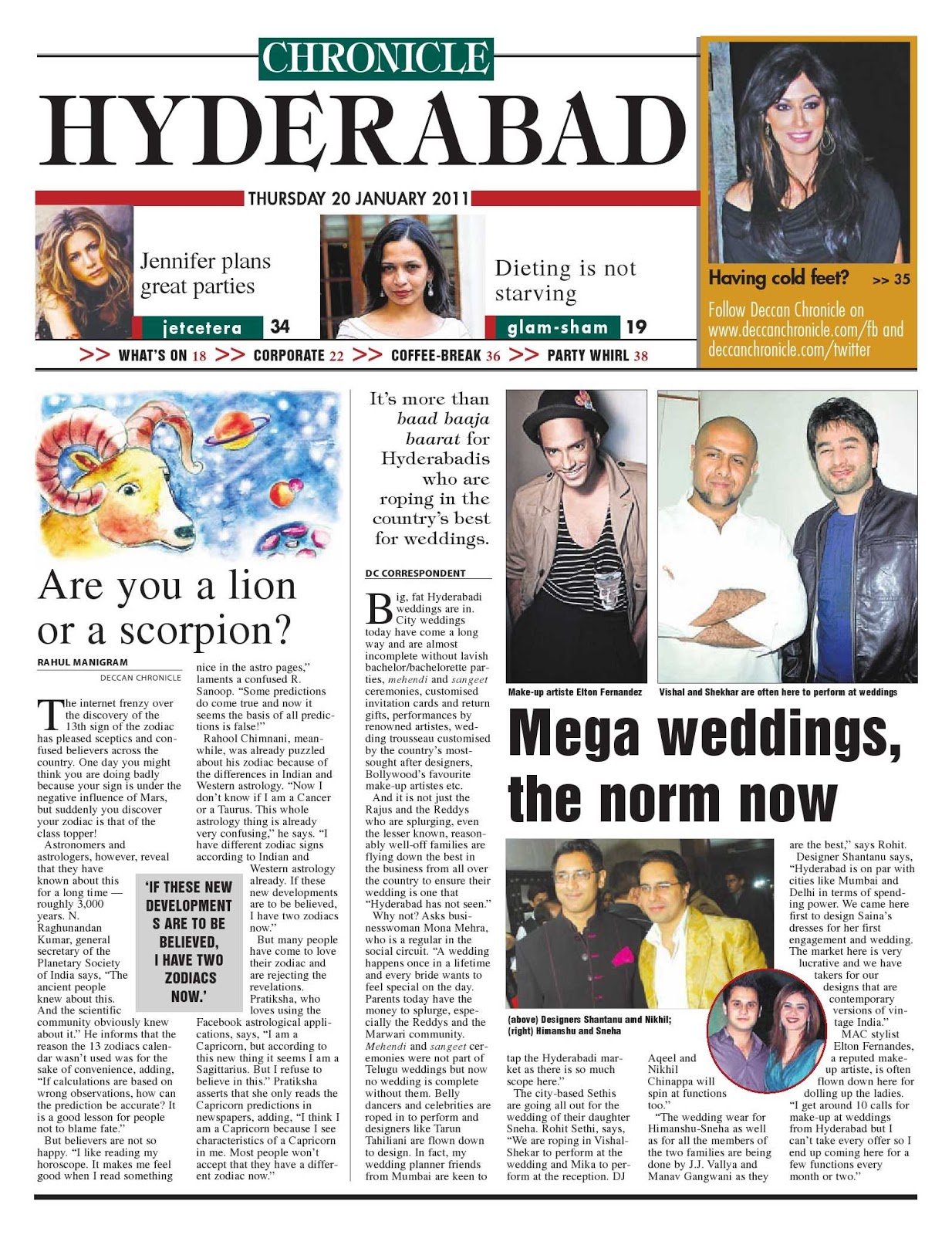 deccan chronicle today news paper