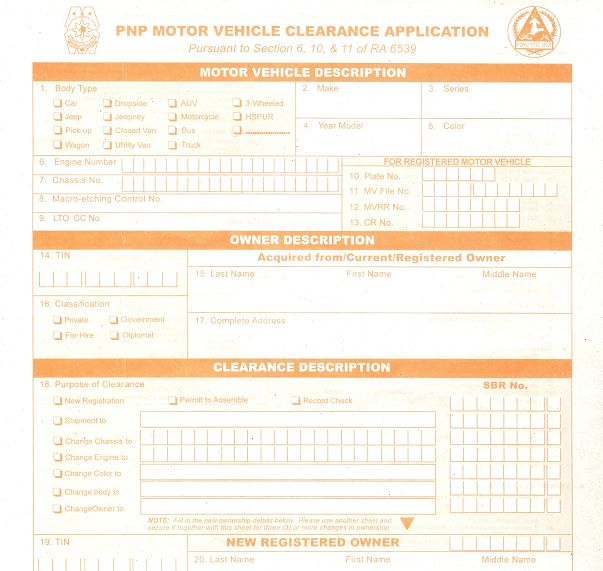 Motor Vehicle Clearance from HPG | Noelizm on application database diagram, application meaning in science, application template, application to be my boyfriend, application cartoon, application for rental, application to date my son, application clip art, application submitted, application to join motorcycle club, application for scholarship sample, application approved, application for employment, application in spanish, application service provider, application to rent california, application trial, application error, application to join a club, application insights,
