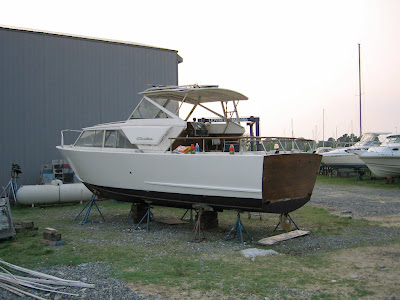 Well, this yacht is called a 1967 Chris Craft Cavalier.