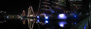 panoramic picture frigates puerto madero argentina