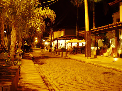 Buzios at night