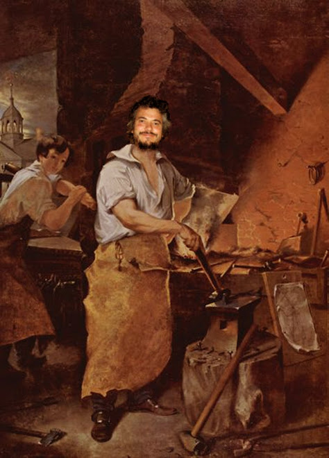 Leif at the Forge
