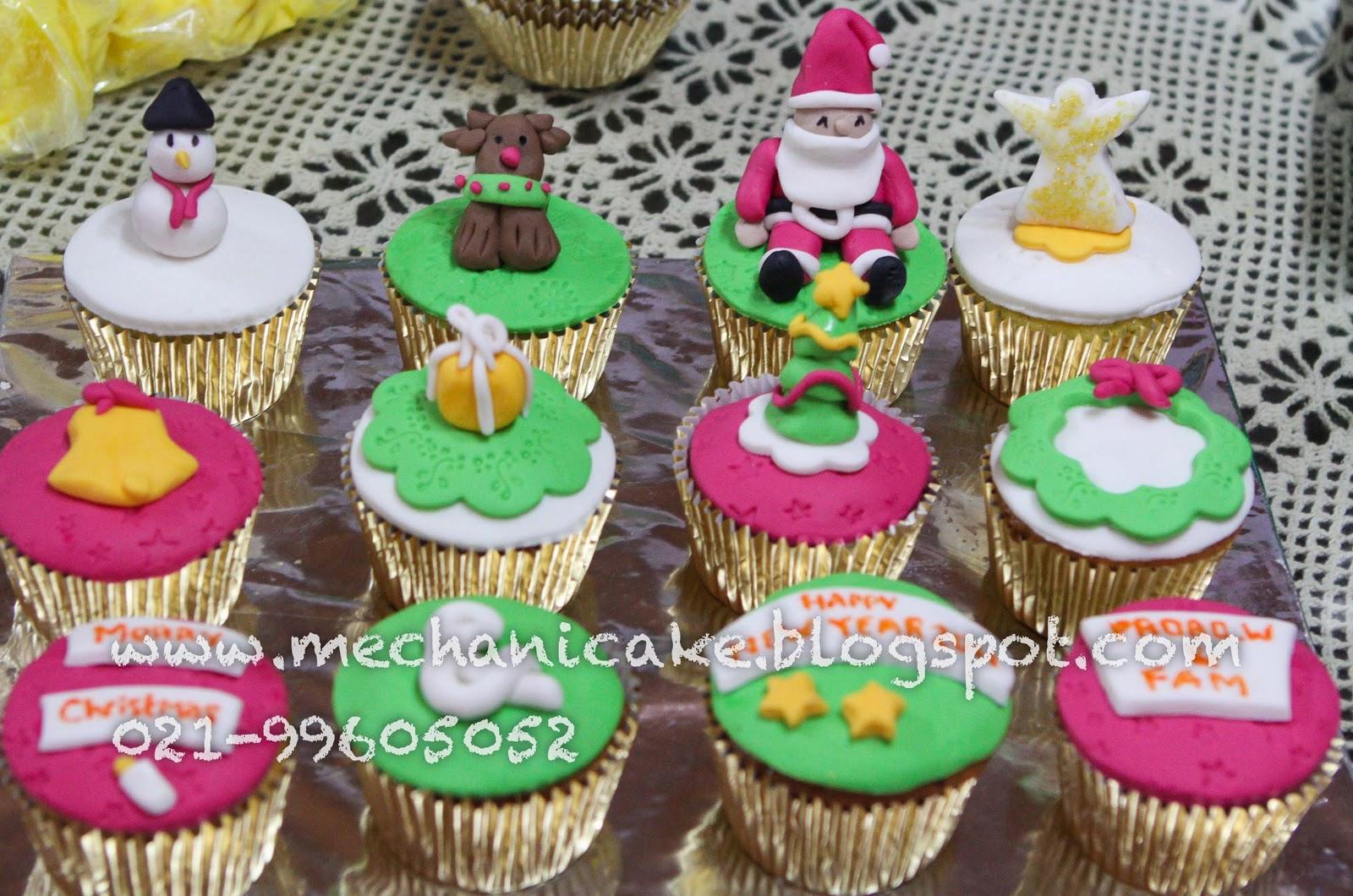 MechaniCake: christmas cupcake 2set