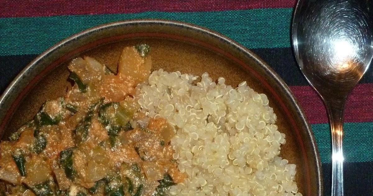 kreatives kochen curry mit mangold und wei er r be. Black Bedroom Furniture Sets. Home Design Ideas