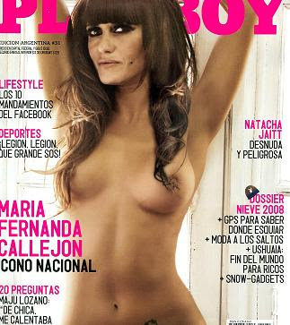 Maria Fernanda Callejon Se Desnuda Para La Revista Playboy Y Ense A