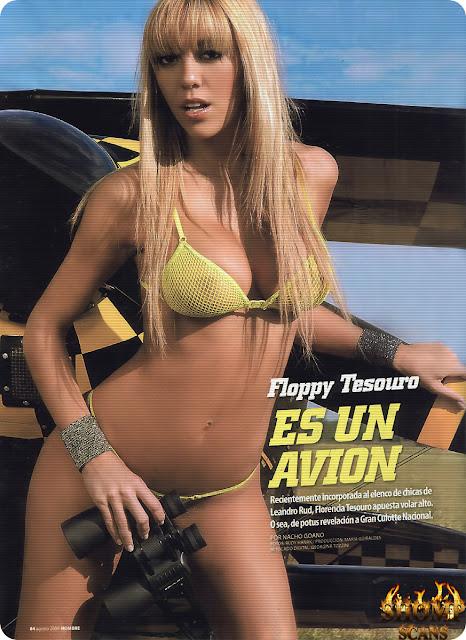 Florencia Tesouro Desnuda Colaza En La Revista Maim