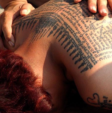 RAQUEL traditional thailand tattoos