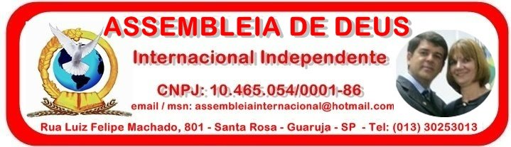 ASSEMBLEIA DE DEUS INTERNACIONAL INDEPENDENTE