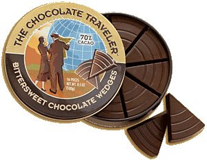 trader joes chocolate wedges