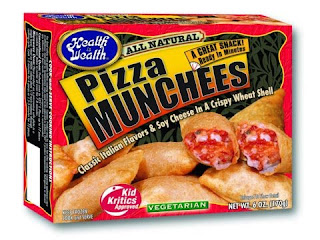 Health is Wealth low calorie pizza munchees