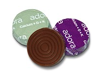 adora 30 calories chocolate calcium supplement