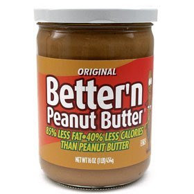 low calorie peanut butter