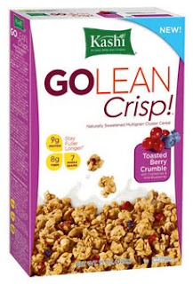 kashi go lean crisp toasted berry crumble