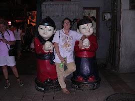 Viagem à China - Mercado nocturno  de Wang Fujing