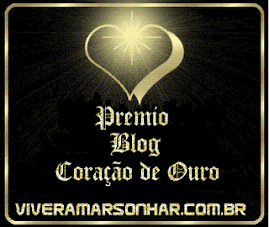 """Prémio Blog """"Coração de Ouro"""""""