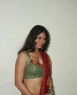 Siji in a Spicy Saree Picture Shoot