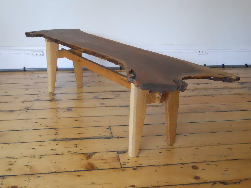White Oak Slab Table