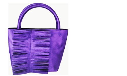 100 handbag morado