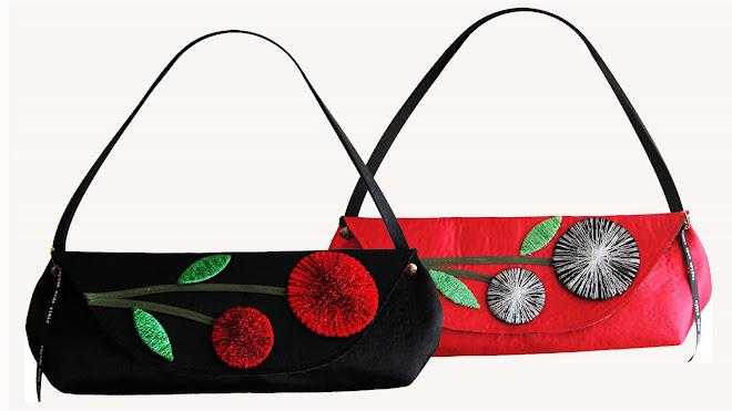 mini baguette sparckles handbag