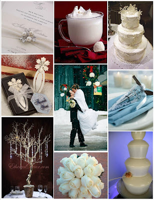 But it got me thinking a Winter White wedding would be so pretty