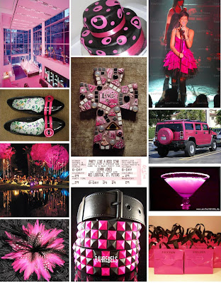 Grab Blog Styles Black And Hot Pink Wedding Reception