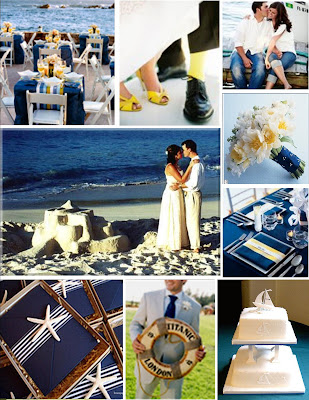 Angela 39s Wedding Ideas for Family ONLY July 2009 nautical wedding ideas