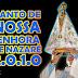 APRESENTAÇÃO DO MANTO DE N. Srª NAZARÉ 2010
