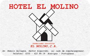 Publicidad Hotel  El Molino .