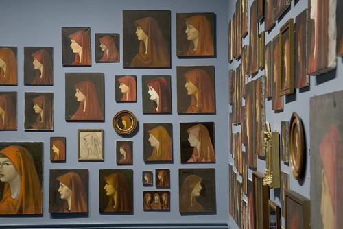 Francis Alys' collection of Saint Fabiola's paintings