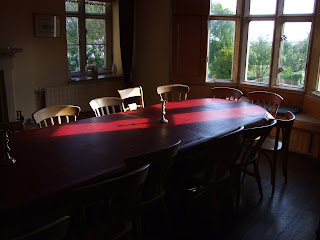 Dining room at Middle Stanley