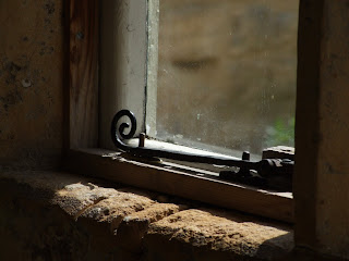 Window catch and stonework