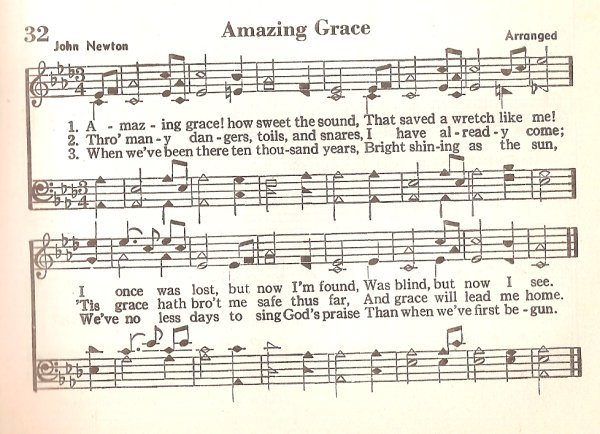 The Hymnomicon Amazing Grace Through The Years