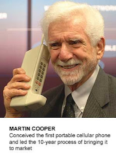 Nilmar Atencio: Who invented the Cell Phone?