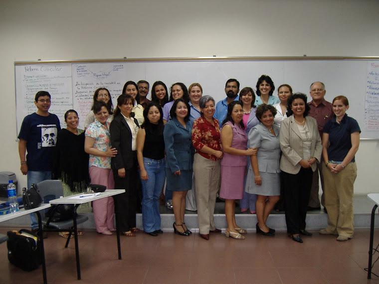 Maestría en Política y Evaluación Educativa, Ciclo I-2008